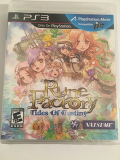 Rune Factory Tides Of Destiny Ps3