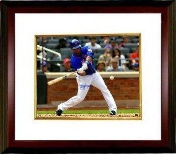 Athlon Ctbl-mw16532 Juan Lagares Firmado New York Mets Foto