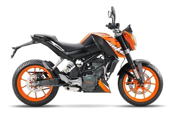 Ktm Duke 200 0km Moto Naked Street Calle Financiamiento