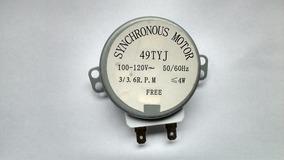(10 Peças) Motor Microondas 110v 3rpm Eixo Ferro