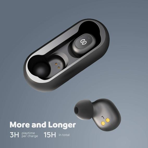 Fone De Ouvido Sem Fio Soundpeats True Wireless Bt5.0 Novo
