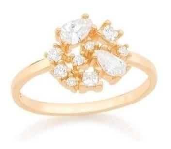 Anel Skinny Ring Diversos Tipos De Zirconias Rommanel 512696 | 512704
