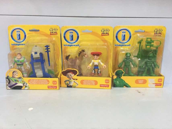 Toy Story Fisher Price Combo Com 3 Cartelas