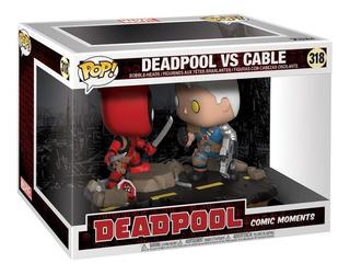Funko Pop Marvel Deadpool + Cable 100% Original