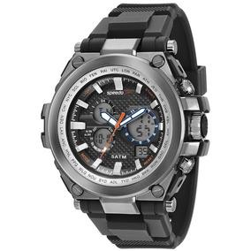 Relógio Masculino Speedo Esportivo Evn-p2 À Prova D