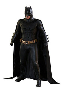 Hot Toys Dc Dark Knight Batman Begins Christian Bale 1/4