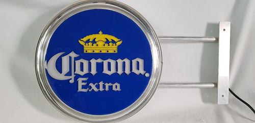 Imagen 1 de 5 de Letrero De Seversa Corona Lum. Exterior  Con Base