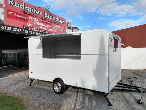 Trailer Rodantes Brandsen  Gastronomico Food Truck 4,00 Mts.
