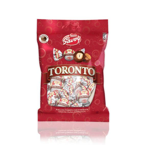 Chocolate Savoy Toronto 125gr Bolsa