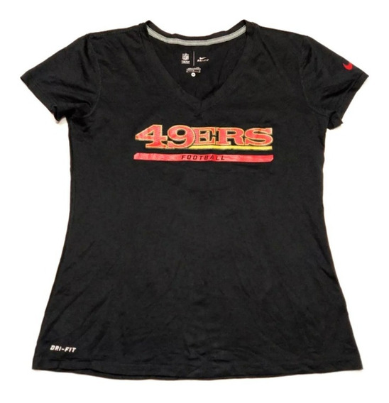 Remera San Francisco 49ers Nfl Nike Talle M Woman Negra