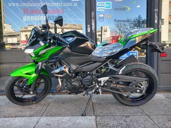 Kawasaki Z400 Abs Okm Verde 2020 Entrega Inmediata Cordasco