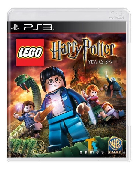 Lego Harry Potter Anos 57 Ps3 Mídia Física Pronta Entrega