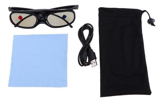 Dlp 3d 96-144hz - Link Active Óculos Jx30- T Preto