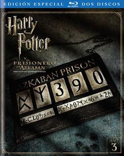 Blu-ray - Harry Potter Y El Prisionero De Azkaban - 2 Discos