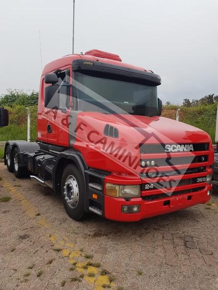 Scania T 124 360 2004 6x2