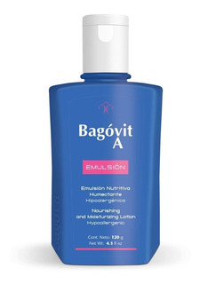 Bagovit A Emulsión Nutritiva Humectante Hipoalergénica 120g