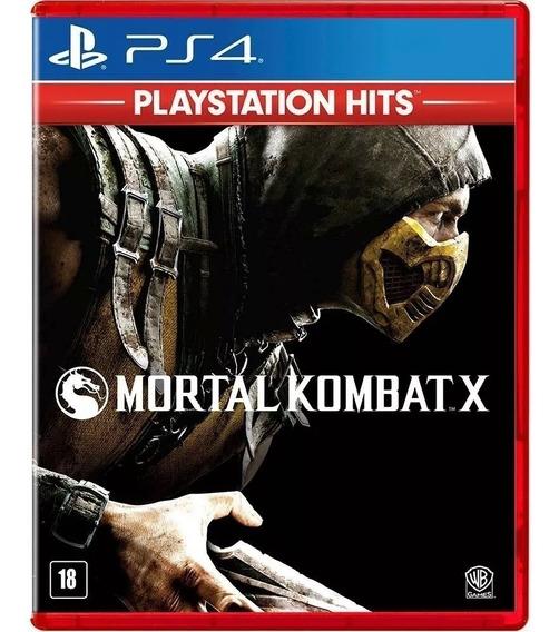 Mortal Kombat X - Jogo Ps4 Original - Midia Fisica Lacrado