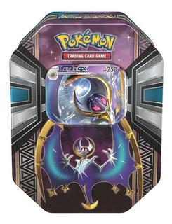 Coleccion Tarjetas Lunala Legends Of Alola Tin Pokemon