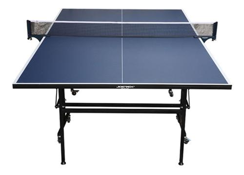 Imagen 1 de 2 de Tenis De Mesa Ping Pong + Accesorios Plegable Azul