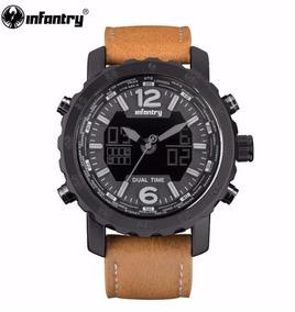 Relógio De Pulso Masculino Militar Policial Esporte Infantry