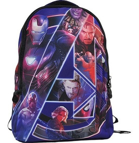 Mochila Vingadores De Costas Marvel Avengers - Xeryus - 8060