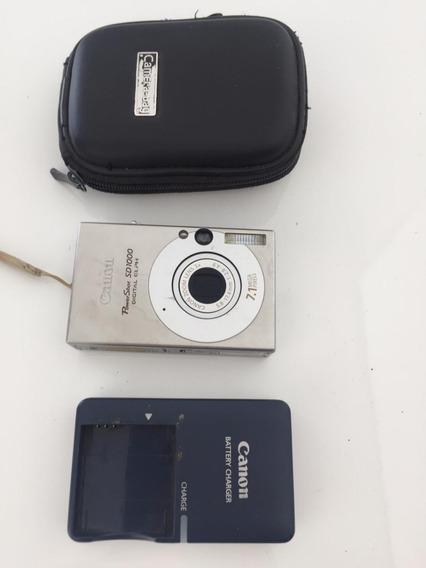Câmera Digital Canon 7.1 Mega Pixels