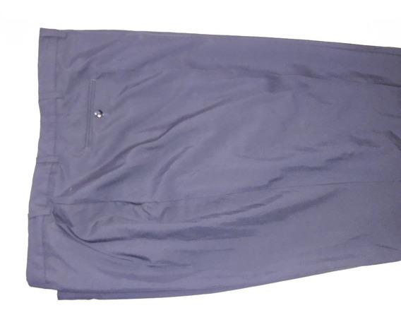 Pantalon Vestir Hombre Robusto Talle 80/82 Gabardina Delgada Talle Especial