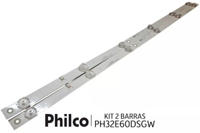 Kit Barras De Led Tv Philco Ph32e60dsgw Ph32e60