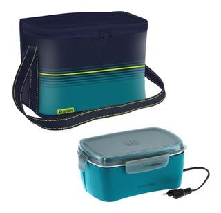 Cooler Bolsa Térmica 9,5 Litros + Marmita Elétrica Soprano