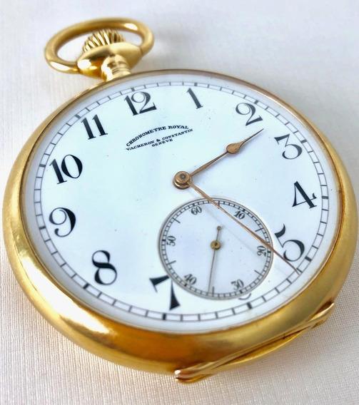 Relógio De Bolso Vacheron & Constatin Genéve Ouro 18k
