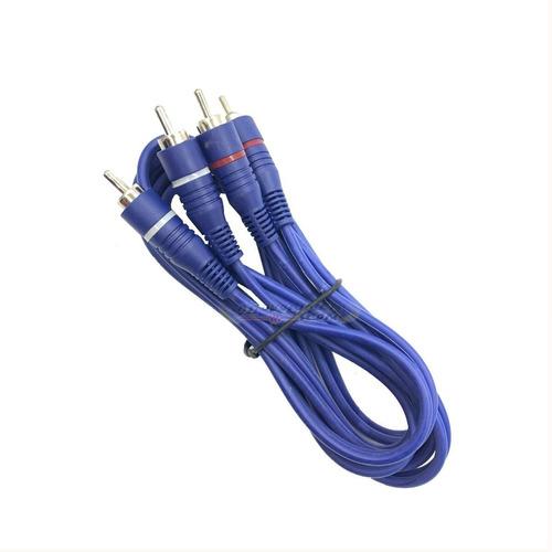 Imagen 1 de 9 de Cable 2 Rca 2 Rca Para Pc Notebook Mp4 La Roca