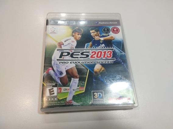Jogo Pro Evolution Soccer Pes 2013 Ps3 Futebol Mídia Física