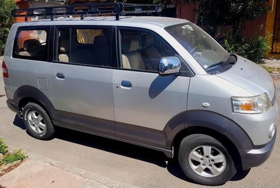 Suzuki Minivan Apv Glx 1.6 At Plateado 2008
