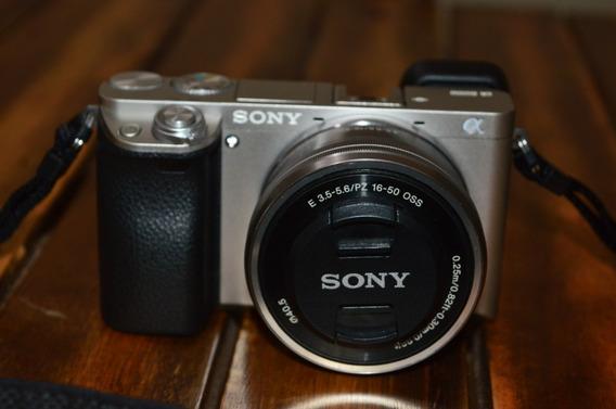 Câmera Sony A6000 + Lentes 16-50