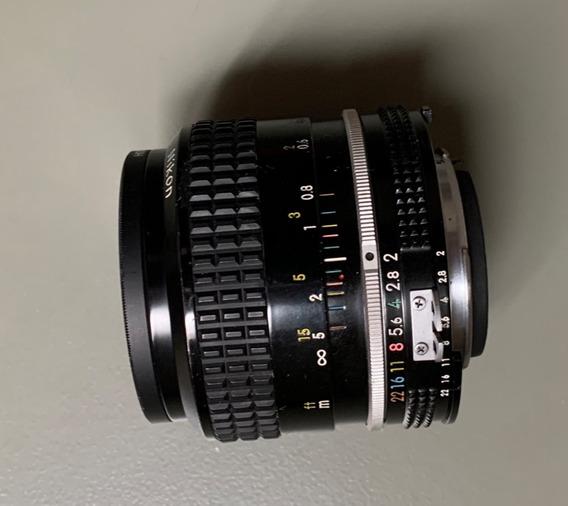 Lente Nikon 35mm F2
