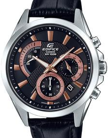 Relógio Casio Edifice Masculino Couro Efv-580l-1avudf