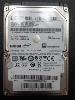 Disco Rígido Samsung St750lm022 2,5 750gb