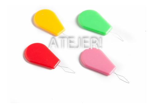 Imagen 1 de 6 de Enhebrador Agujas De Plástico Por 10 Unidades Surtido