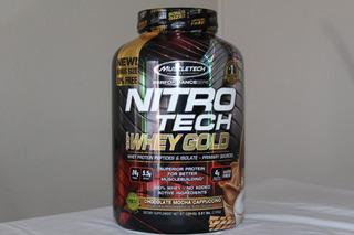 ProteinasMuscletech Nitro Tech Gold 5.53 Lbs