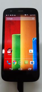 Motorola Xt1032 G1 Seminovo Funcionando Preto