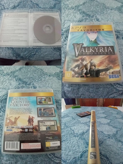 Valkyria Chronicles Play3 Games Jogos Ljj5#