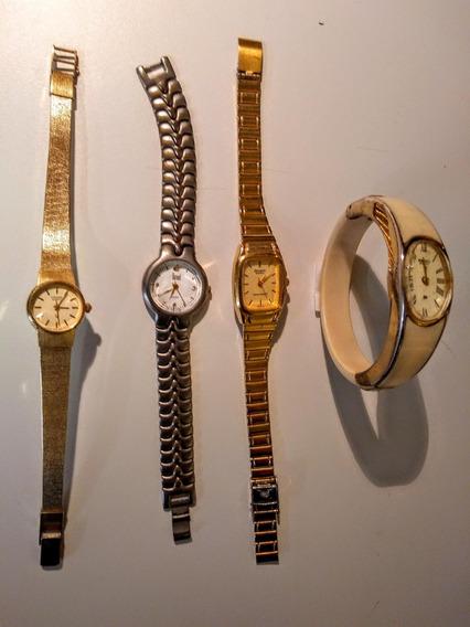 Lote Coleção Lindos Relógios Clássicos Seiko, Citizen Outros