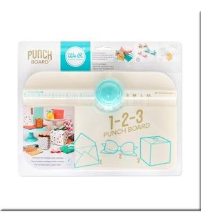 Scrapbook We R Tabla 123 Punch Board - Cajas Moños Y Sobres