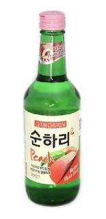 Alcohol Coreano Soju Chum Churum Durazno 1 Pza 360 Ml