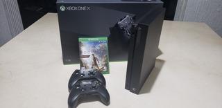 Xbox One X + Juego + 3 Controles + Audífonos Astro A50