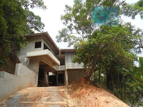 Imagem 1 de 10 de Casa À Venda, Condomínio Iporanga - Guarujá - Ca0225