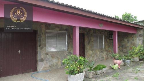 Imagem 1 de 30 de Chácara, 1600 M² - Venda Por R$ 366.000,00 Ou Aluguel Por R$ 1.550,00/mês - Águas Claras - Viamão/rs - Ch0012