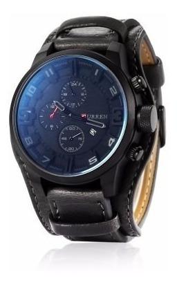 Relógio Curren Masculino Importado Original 8225 Black