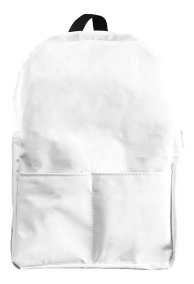 Ecomochila Silobag - Pocket Blanca - De Silobolsa Reciclada