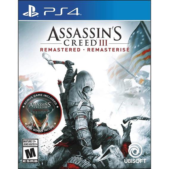 Assassins Creed Iii: Remastered - Ps4 Lacrado